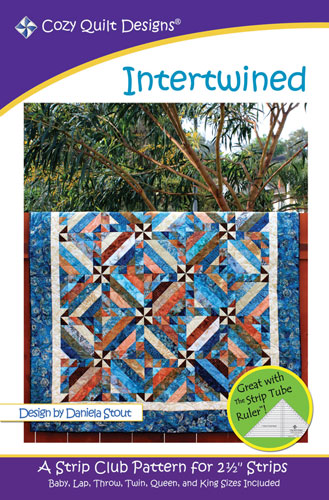 Intertwined Pattern for 2 1/2-inch strips