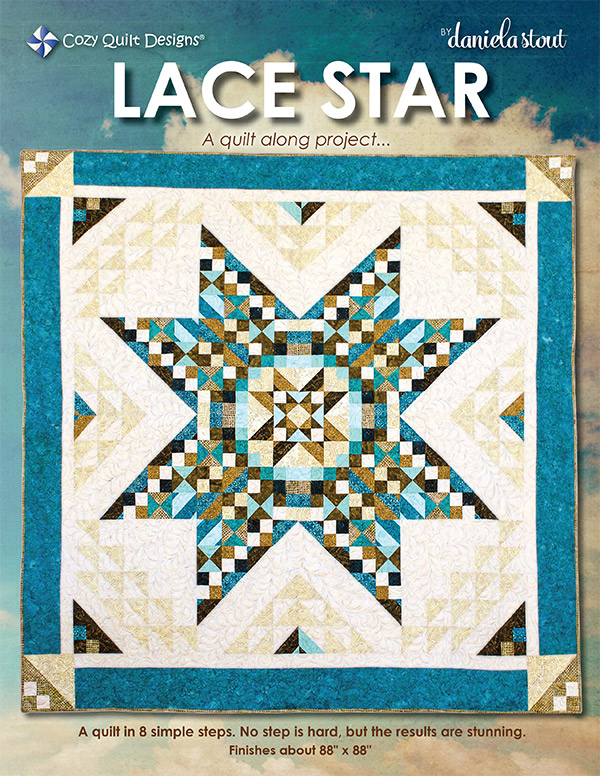 Lace Star Quilt Along Project