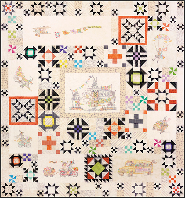 The Stitchwitch SpellBinders Quilt Show Block of the Month