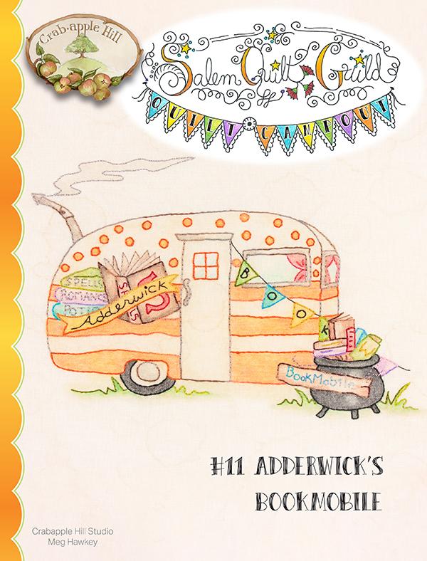 Salem Quilt Guild's Quilt Campout #11 Adderwick's Bookmobile
