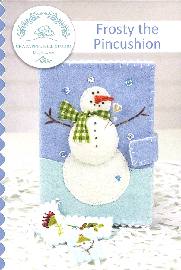 Frosty The Pincushion & Needle