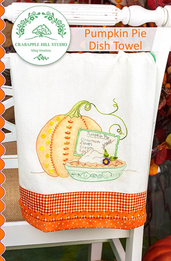Pumpkin Pie Dish Towel
