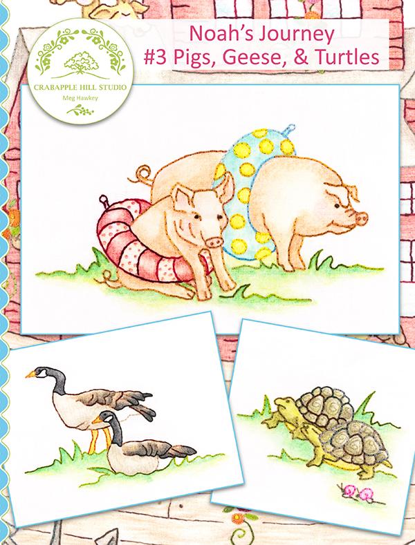 Noahs Journey #3 Pig Geese Turtle