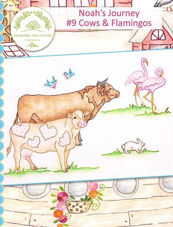 Noahs Journey #9 Cows/Flamingos