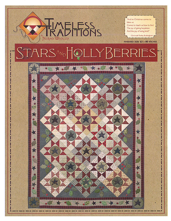 Stars & Holly Berries/Timeless Traditions/Normal Whaley