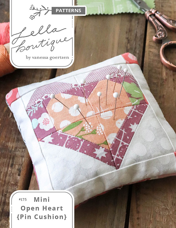 Mini Open Heart Pin Cushion