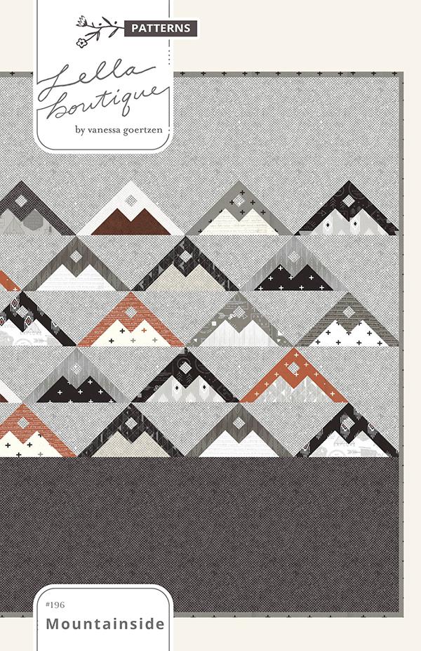 Mountainside pattern
