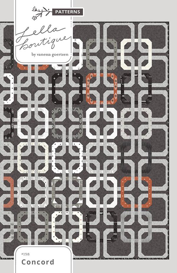 Concord Pattern  by Lella Boutique