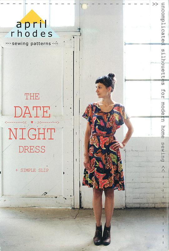 The Date Night Dress Pattern by April Rhodes