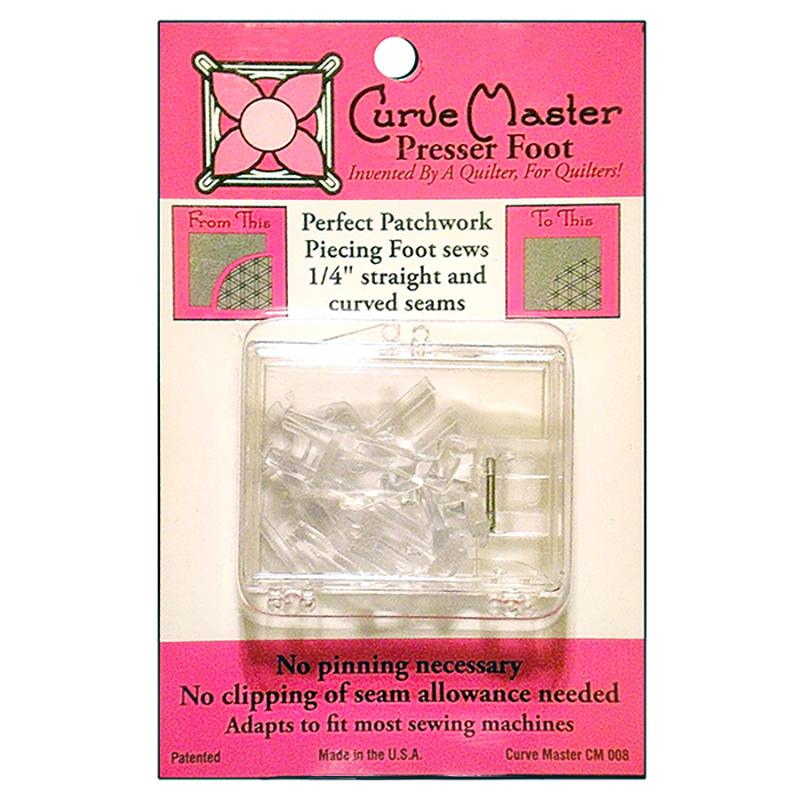 Curve Master Presser Foot 1/4in
