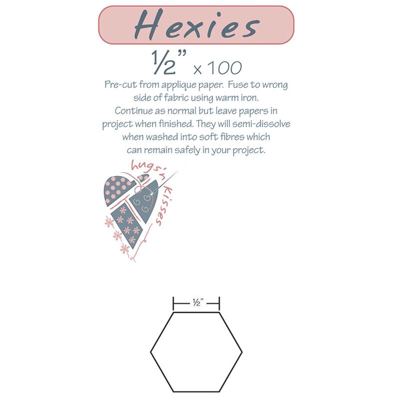1/2 Hexies