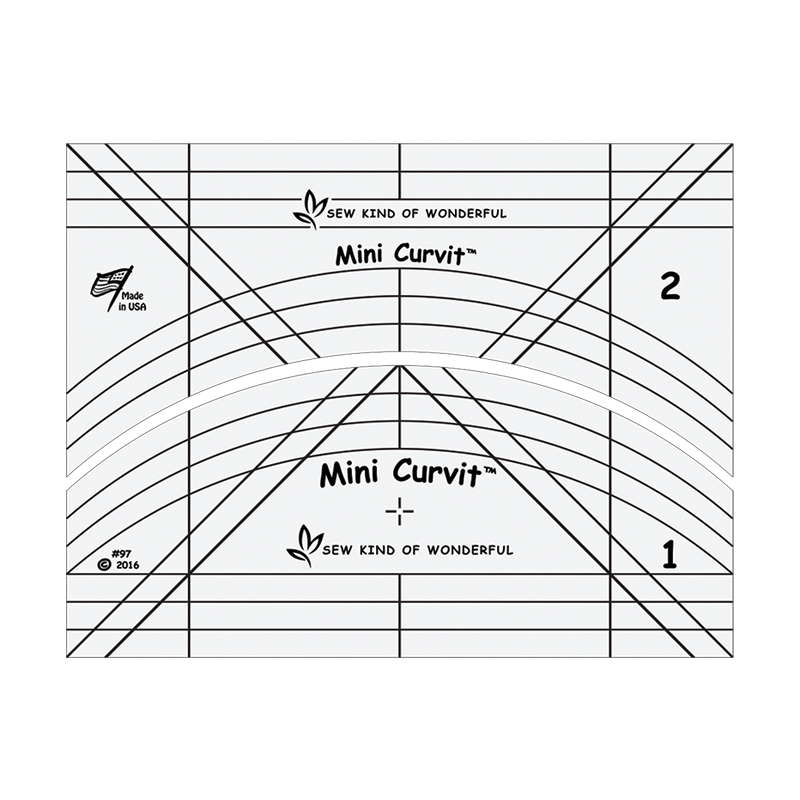 Mini Curvit Ruler for Longarm Quilting