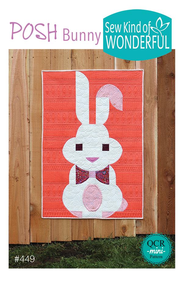 Posh Bunny Pattern 449