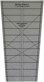 Extension Wedge Ruler