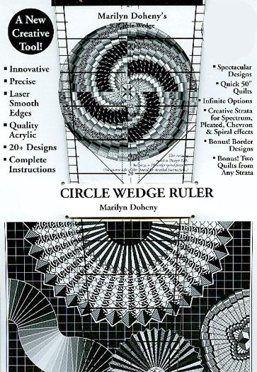 9 degree Circle Wedge Ruler 14