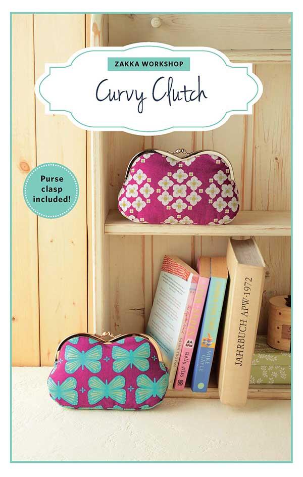 Curvy Clutch W/Clasp