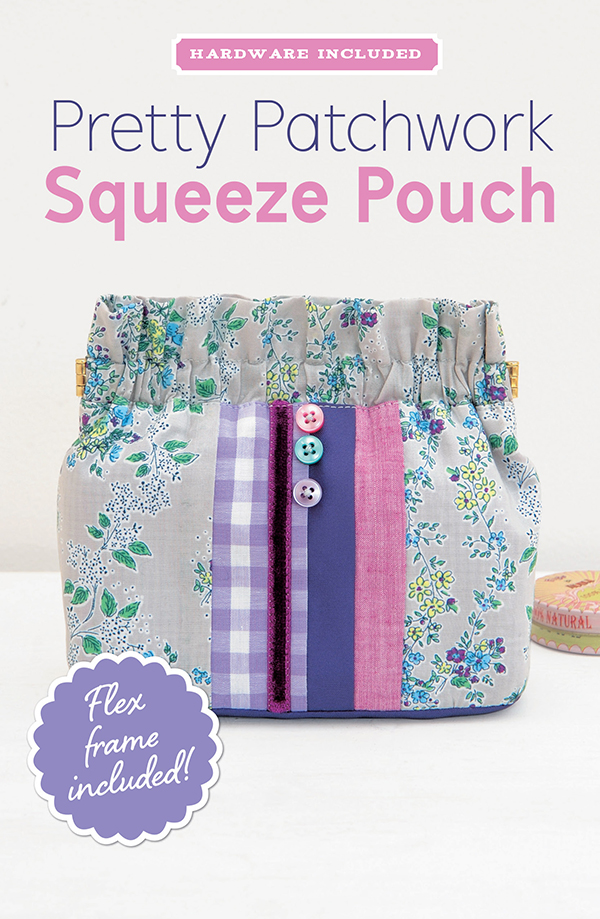 Pretty Patchwk Squeeze Pouch