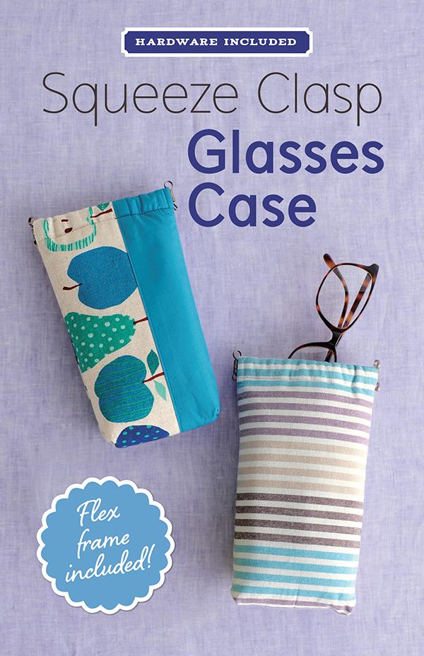 Squeeze Clasp Glasses Case