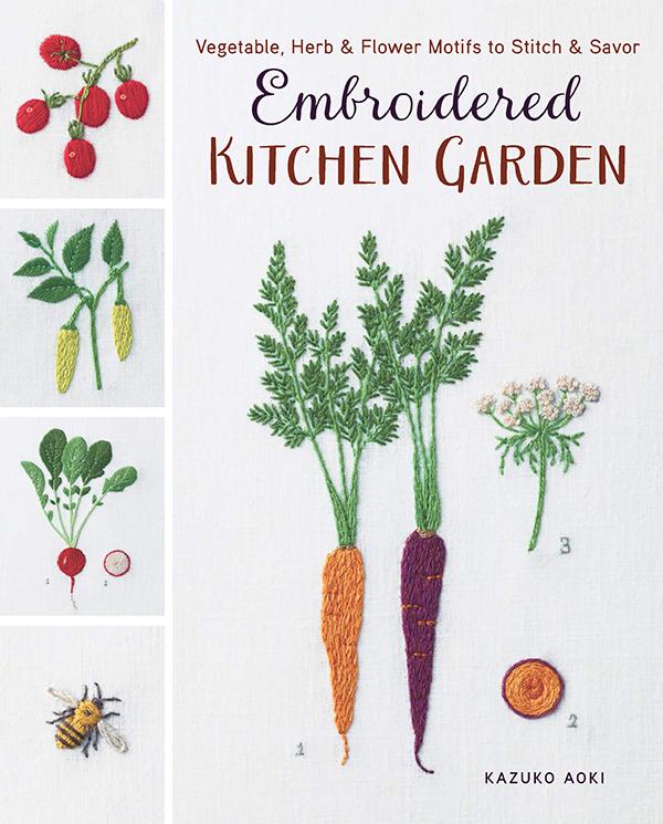 (B) Embroidered Kitchen Garden