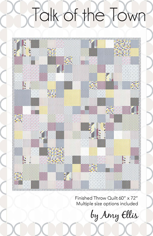 Talk Of The Town Quilt Kit AE 110K Chic Neutrals Collection