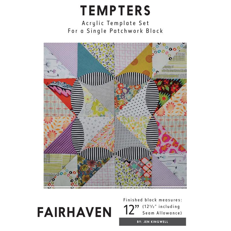 Fairhaven Tempter Templates - Jen Kingwell Designs