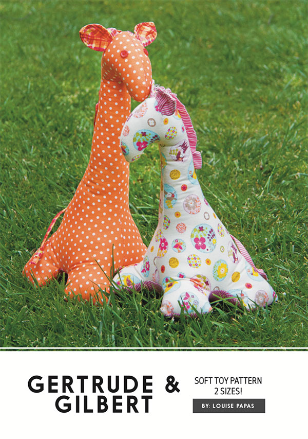 Gertrude & Gilbert Soft Toy Pattern
