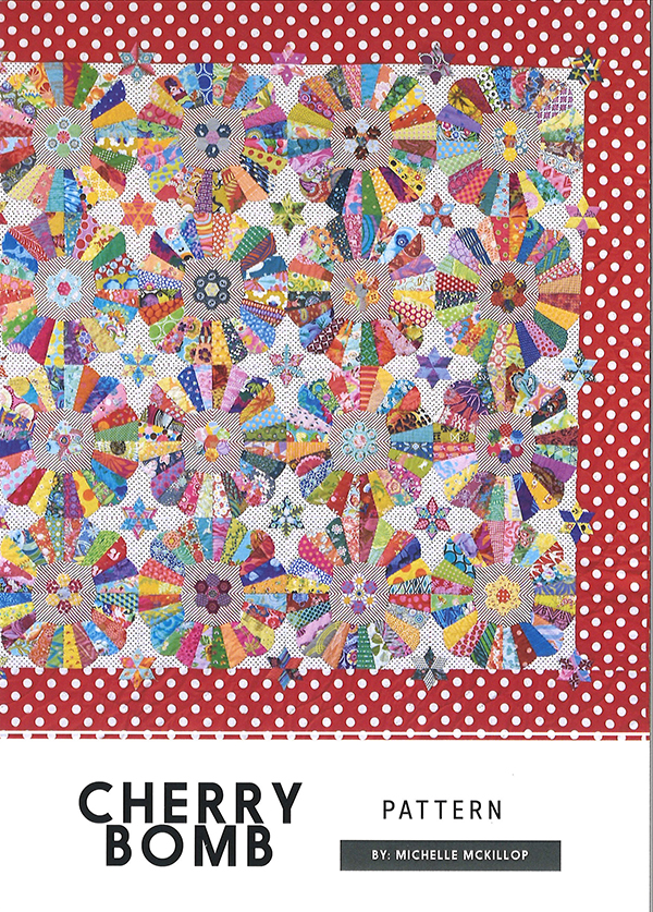 Cherry Bomb Quilt Pattern - 75 x 75 by Jen Kingwell Collective