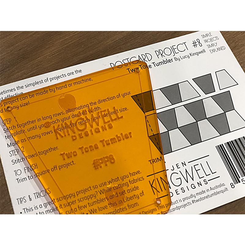 Postcard Project 2 Tone Tumbler
