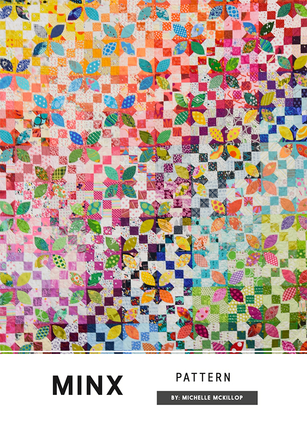 Minx Quilt Pattern - 60 x 72