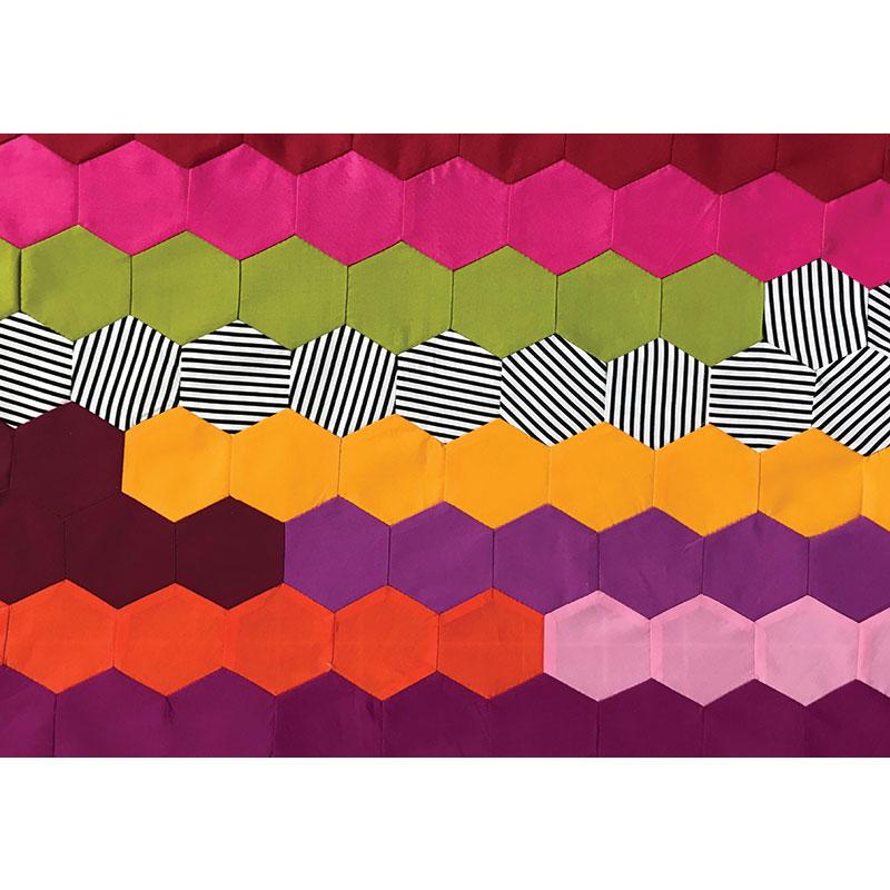 Postcard Project 11 - Hex 1 1/2 - Jen Kingwell Designs