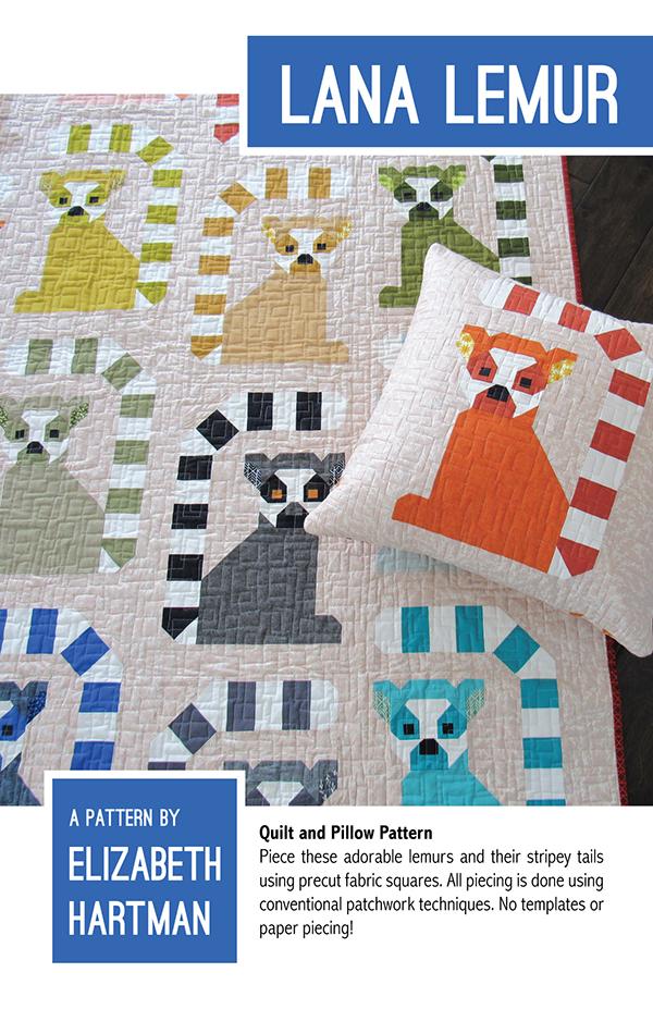Lana Lemur Quilt Pattern