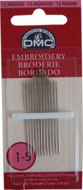 EMBROIDERY NEEDLES  1-5