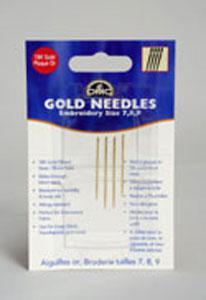 Needles DMC Gold Needles Embroidery Size 7 8 9