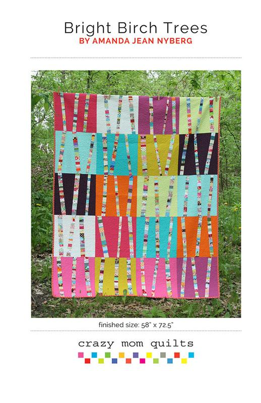 Bright Birch Trees by Crazy Mo