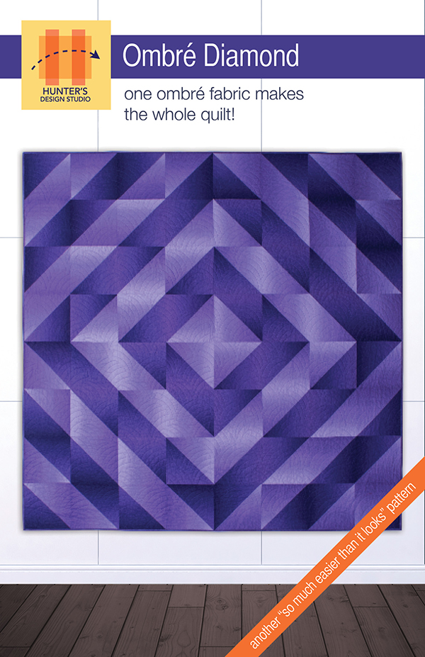 Ombre Diamond Pattern