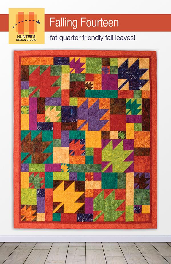 Falling Fourteen Pattern by Hunter's Design Studio