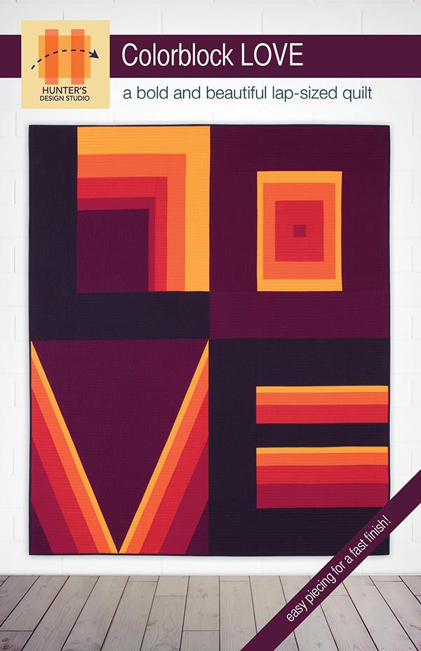 Colorblock Love by Hunter's Design Studio