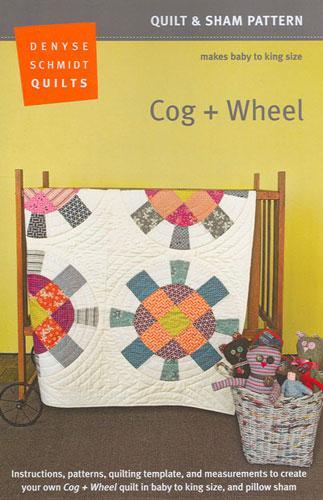 Cog & Wheel Quilt Pattern by Denyse Schmidt