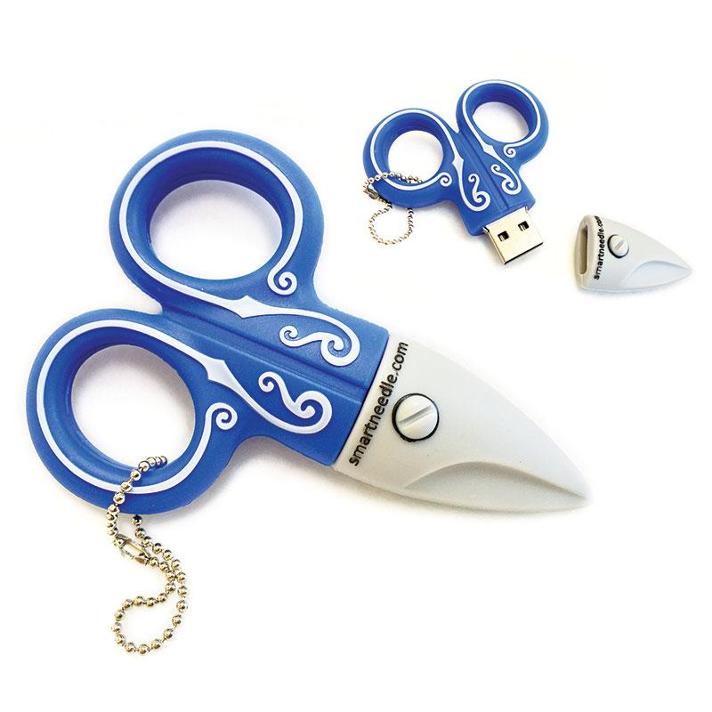 USB Drive 2GB Scissor Blue