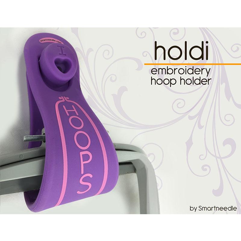 Holdi Hoop Holder Lavender