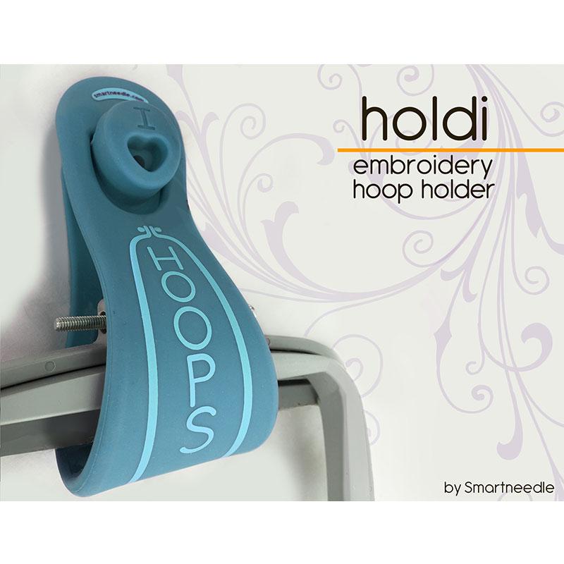 Holdi Hoop Holder Aqua/Emerald