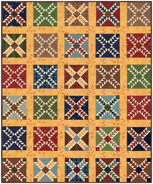 Betsy Chutchian Hopes Journey quilt pattern