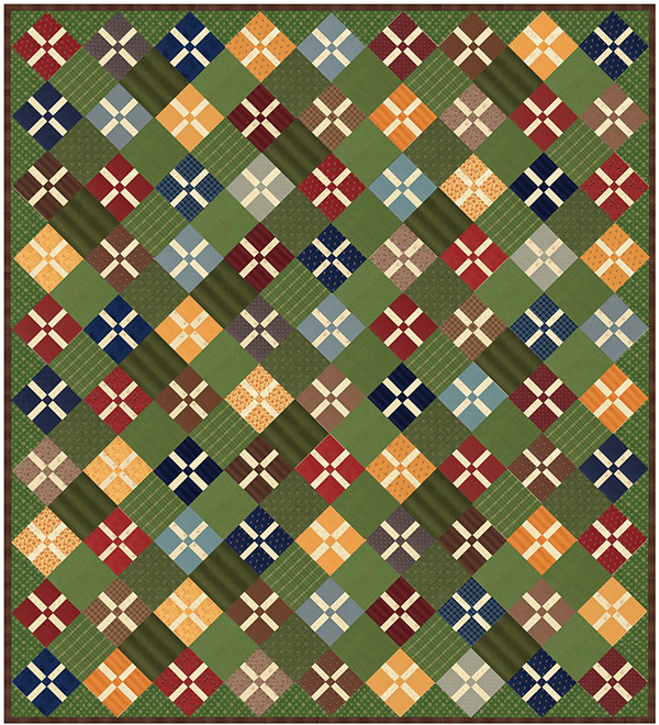 Betsy Chutchian Calico Meadow quilt pattern