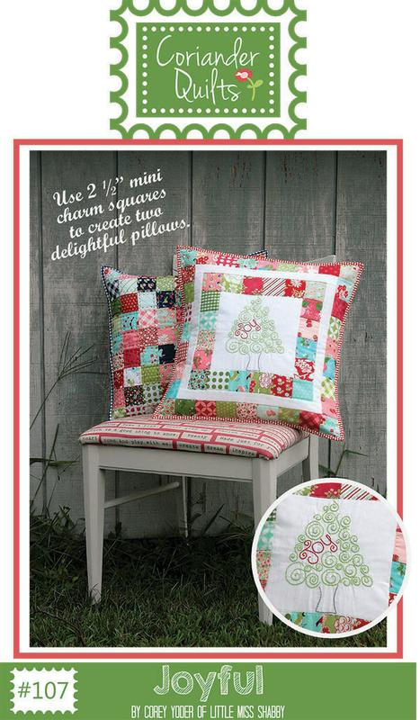Joyful Pillow Pattern