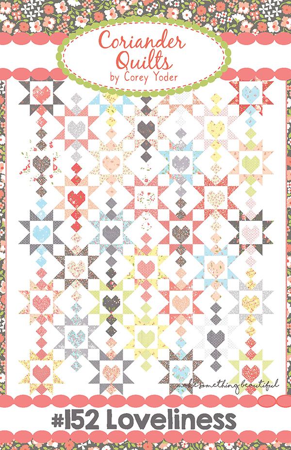 Item#12061.PT4 - Loveliness - Coriander Quilts