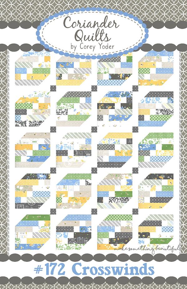 Crosswinds Quilt Pattern by Corey Yoder