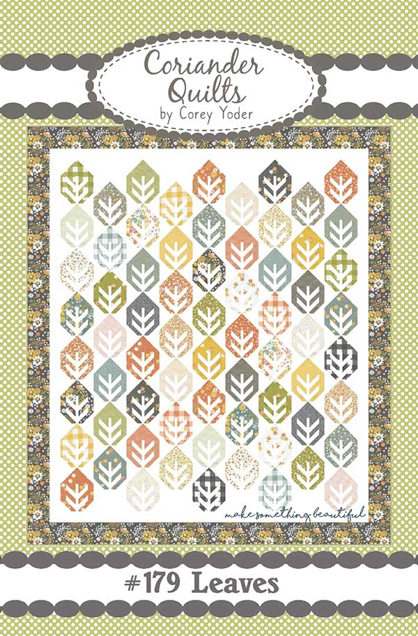 Leaves Quilt Pattern by Corey Yoder