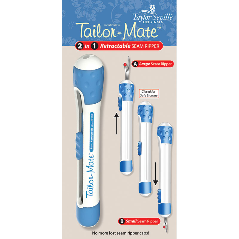 Tailor Mate 2 Way Seam Ripper
