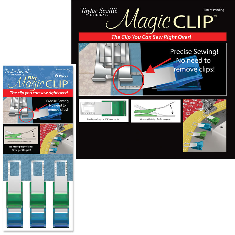 Magic Clip Big 12ct