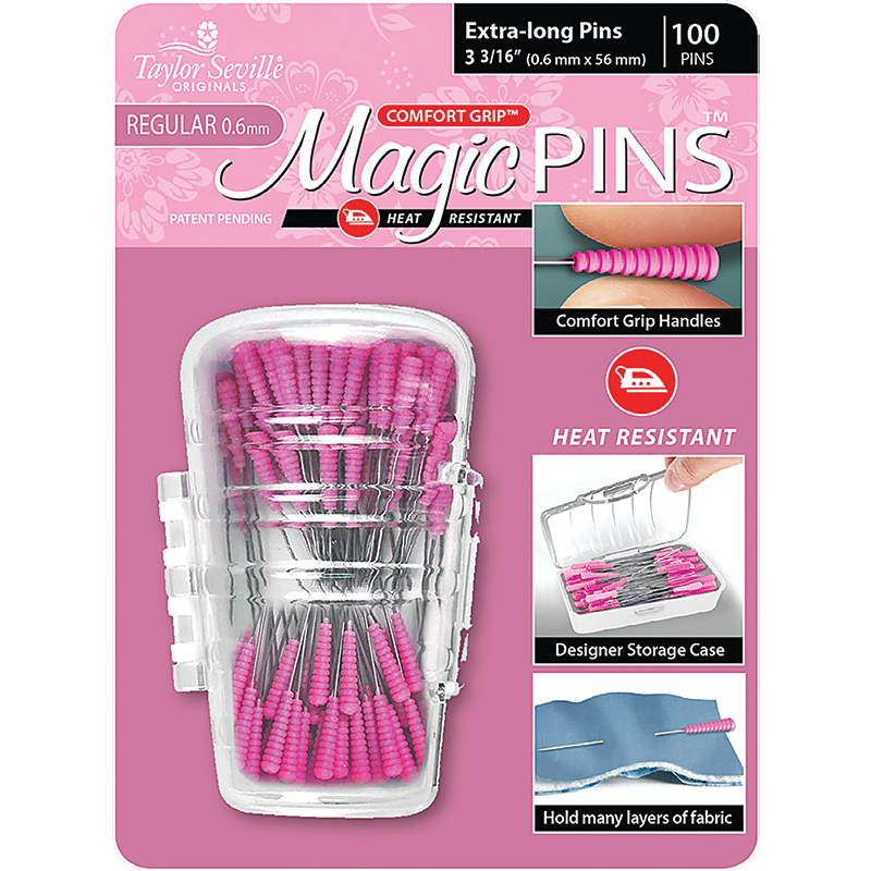 Magic Pins Extra Long 100ct
